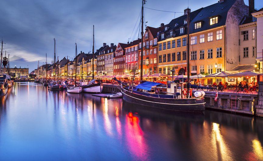 Дешевые авиабилеты в Копенгаген