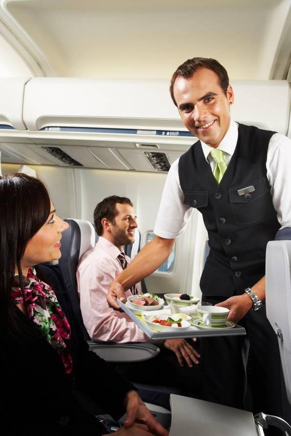 Бизнес класс airBaltic