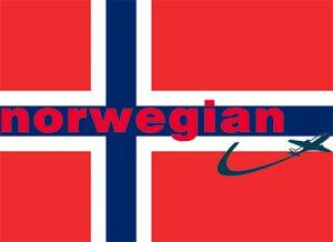Norwegian air - Flag of Norway