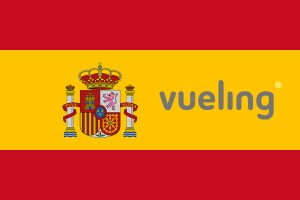 Vueling airlines - Flag of Spain